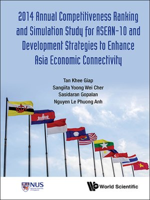 cover image of 2014 Annual Competitiveness Ranking and Simulation Study For Asean-10 and Development Strategies to Enhance Asia Economic Connectivity